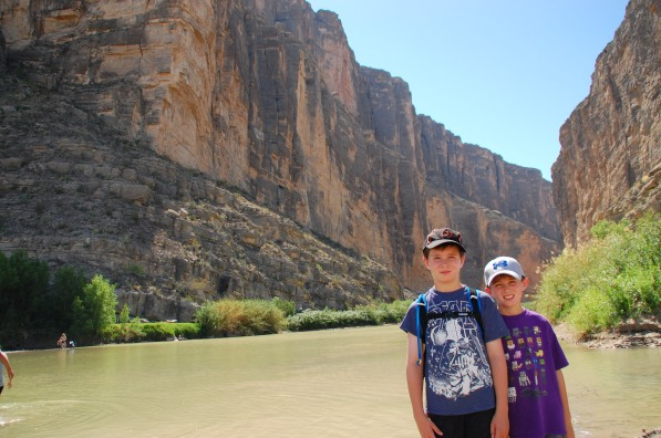 Hiking by the Rio Grande