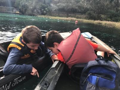 Kayaking @ Rainbow Springs